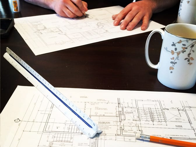 custom home builder planning session